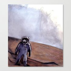 The Rust Coloured Soil (Scene) Canvas Print