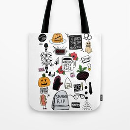 The Office doodles Tote Bag