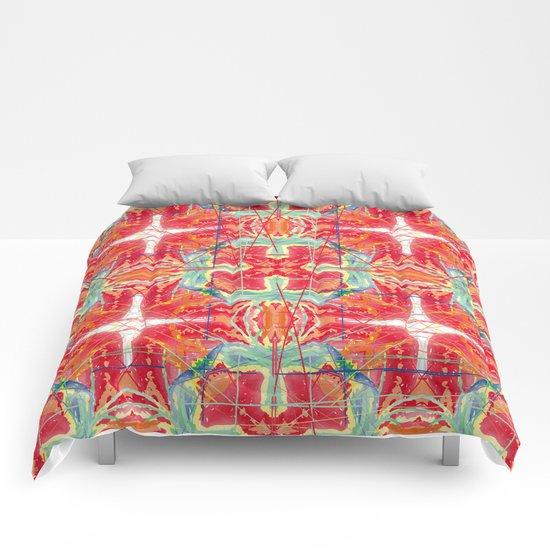 tomato dream Comforters