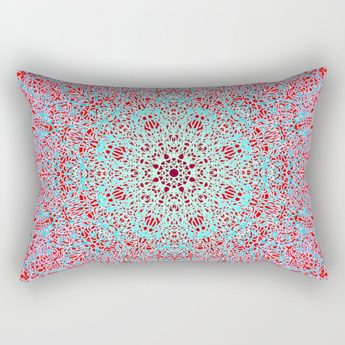 Mehndi Ethnic Style G402 Rectangular Pillow
