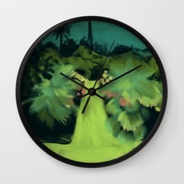 The Gardens of Lismore Castle Wall Clock