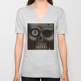 Creepy Unisex V-Neck