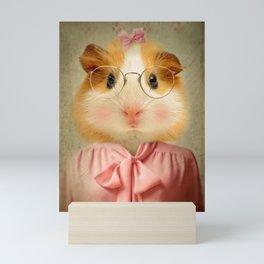 Guinea Pig - Little Shirley Tweedle Mini Art Print