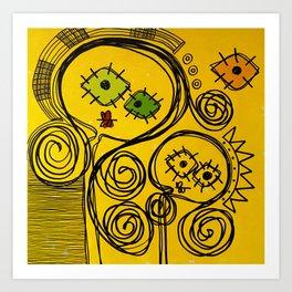 TU & YO Art Print