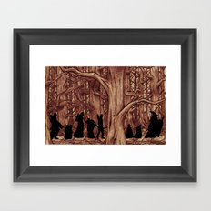 On the way (The Fellowship of the Ring, LOTR) Version 2 Framed Art Print