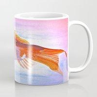 goldfish Mugs featuring Goldfish by Jaime Viens