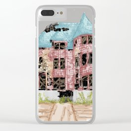 Rubble Remains Clear iPhone Case