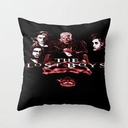 My Lost Vampires Throw Pillow