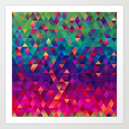 Colorful Life 13 Art Print