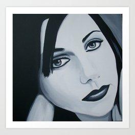 Polly Jean Muse Art Print