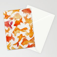 Goldfish Stationery Cards
