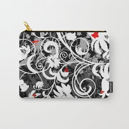 Abstract floral ornament Carry-All Pouch