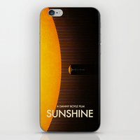sunshine iPhone & iPod Skins featuring Sunshine by Victor Vercesi