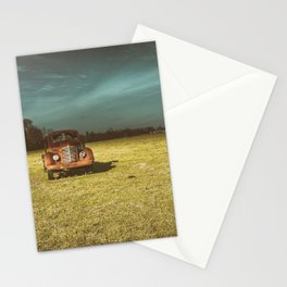Lost In Time Truck Travel Stationery Cards