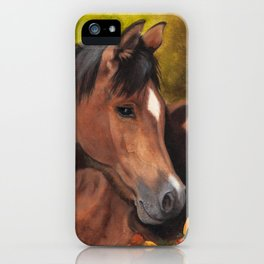 Little Brown Filly iPhone Case