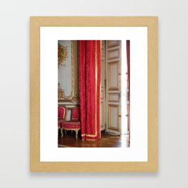 Versailles - Behind The Curtain Framed Art Print