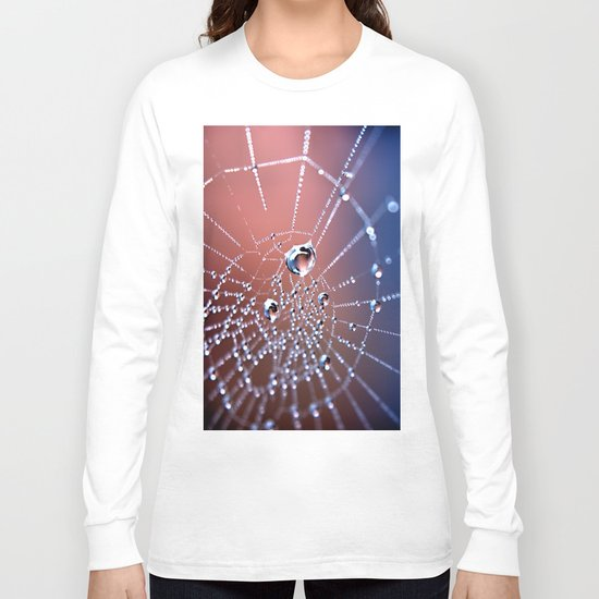 Spiders Necklace Long Sleeve T-shirt