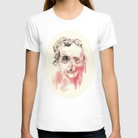 poe T-shirts featuring Poe by Elena López Macías