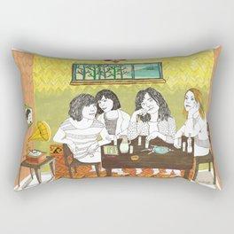 Björk and Sleater Kinney Rectangular Pillow