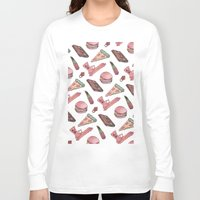 loll3 Long Sleeve T-shirts featuring Girlie Stuff by lOll3