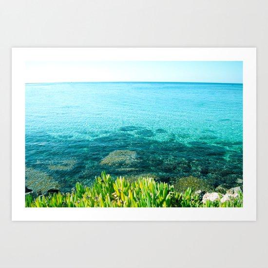 BEACH DAYS XIX Art Print