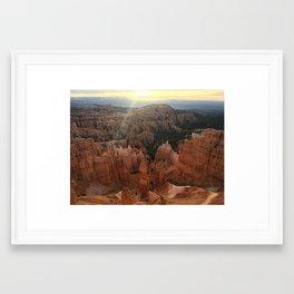 Bryce Amphitheater Framed Art Print