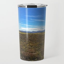Rest Stop on Iceland's Golden Circle Panorama (1) Travel Mug