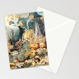 Ocean Life by James M. Sommerville 1859 Stationery Cards
