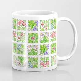 Tudor Flowers Coffee Mug
