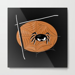 Spider - Halloween Collection Metal Print