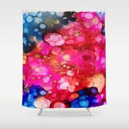Experiment Shower Curtain