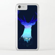 Deer Country Clear iPhone Case