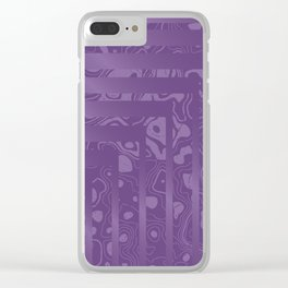 Clashing Natures Clear iPhone Case