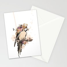 Pearly Parrot  Stationery Cards