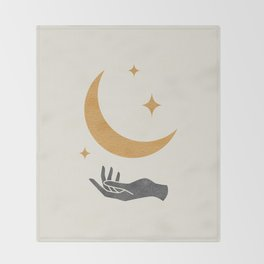 Moonlight Hand Throw Blanket