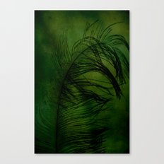 Tickled Green Canvas Print