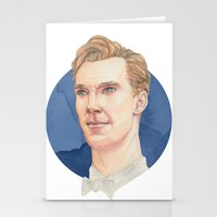 cumberbatch Stationery Cards featuring Cumberbatch by Megan Diño