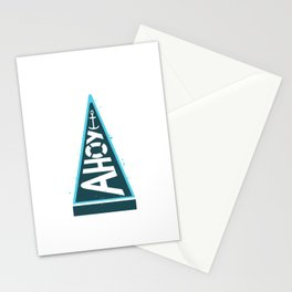 Captain's Pennant Stationery Cards