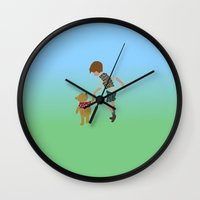 winnie the pooh Wall Clocks featuring Winnie the pooh by pokegirl93