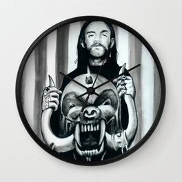Motorhead Wall Clock