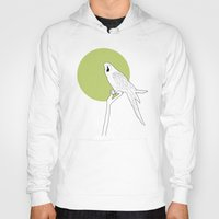 parrot Hoodies featuring Parrot by Rebekhaart