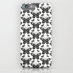 Butterfly pattern iPhone 6s Slim Case