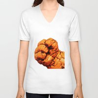 the thing V-neck T-shirts featuring Thing by Beastie Toyz