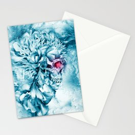 Frozen Skull Stationery Cards