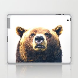 Bear portrait Laptop & iPad Skin