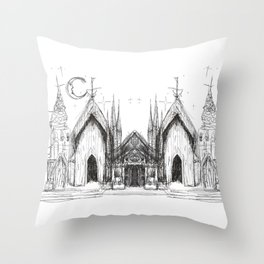 Someplace Magical Throw Pillow