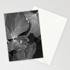 Black & White Spring  Stationery Cards