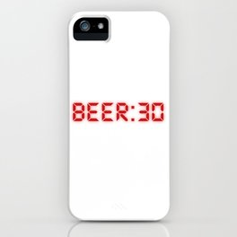 Half Past Beer iPhone Case