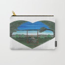 Sunset Sweethearts - Scotties - Scottish Terriers Carry-All Pouch