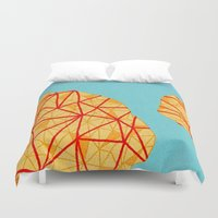 detroit Duvet Covers featuring - detroit - by Magdalla Del Fresto